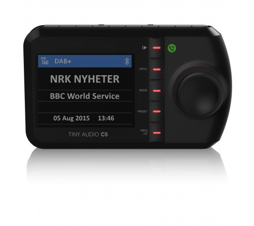 Tiny Audio C5 DAB receiver / carkit / kleurenscherm