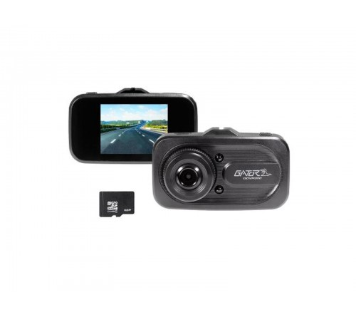Gator dashcam 720 HD + Display + 8GB Micro SD