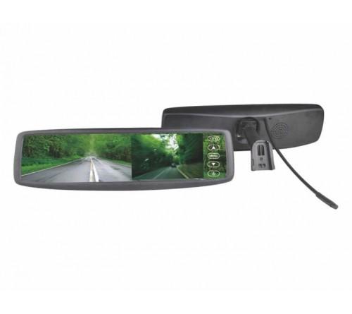 m-use spiegel 12V met monitor 4 3