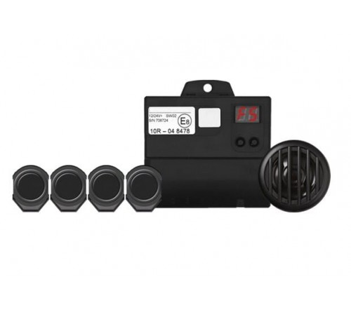 Front Parking sensors Kit incl 4 flat capsules with buzzer