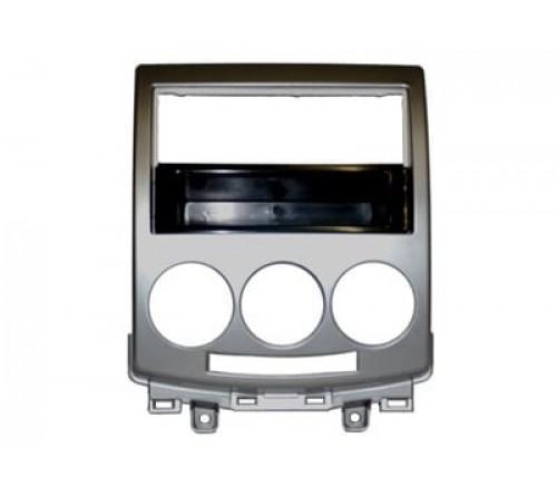 1-DIN inbouwframe  Mazda 5  05>  zilver