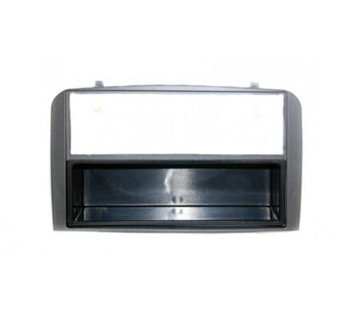 2-DIN frame met bakje Alfa 147 2000-2010/GT 2007-> Antraciet