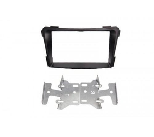 2-DIN frame  Hyundai i-40 2011> zwart