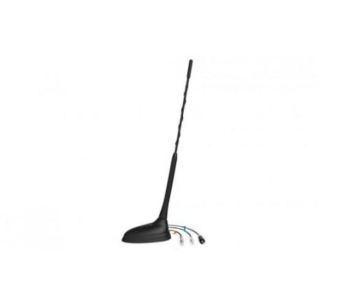 Combi antenne  AM/FM (raku2) + GSM 1890 + GPS FME F