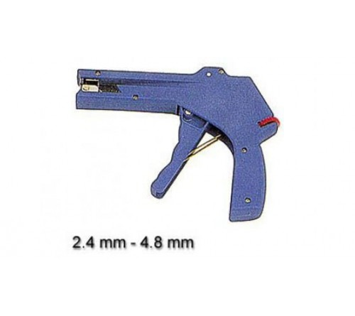 Cable tie gun  for cable ties  2 4 - 4 8 mm