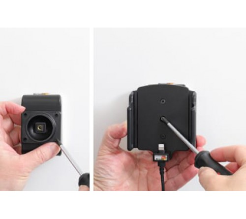 Brodit h/l verstelb(70-83/6-10mm) iPhone 12/12 Pro USB sig.