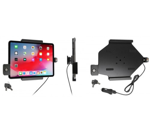 Brodit h/l Apple iPad Pro 11/Air 4 USB sig.plug LOCK-2 keys