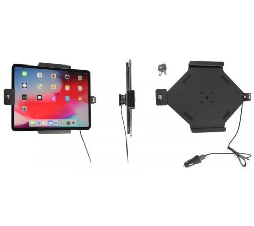 Brodit h/l Apple iPad Pro 12.9 (2018) USB sig.plug LOCK-keys