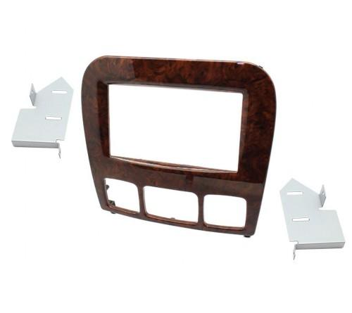2-DIN Frame MB S Class 1998-2005 houten afwerking