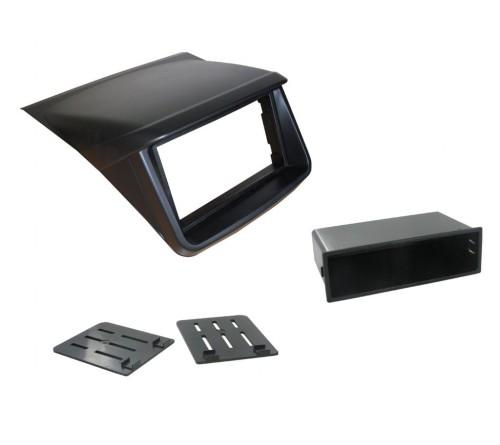 2-DIN Frame Mitsubishi L200 2006-2015 Zwart