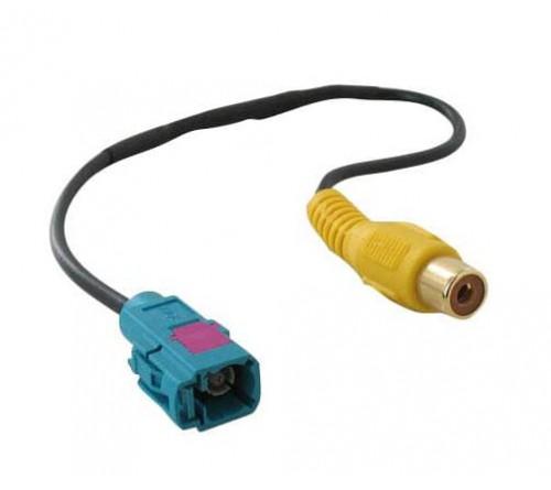 Audio adapterkabel RCA F - Fakra F blauw 0.2m