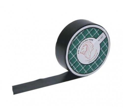 isolatie tape zwart 15 mm. X 10 mtr.  10 stuks