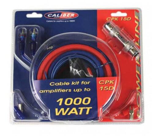 kabel kit voor versterkers tot 1000 watt