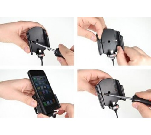 Brodit h/l Apple iPhone SE/5/5S verstelb b.59-63/d6-10