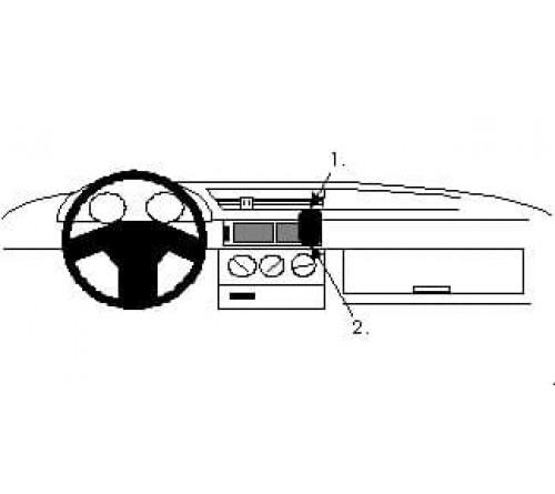 Proclip Alfa Romeo 155  92-97 Angled mount