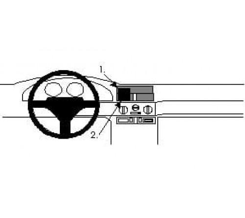 Proclip Alfa Romeo 145 94-97 Center mount