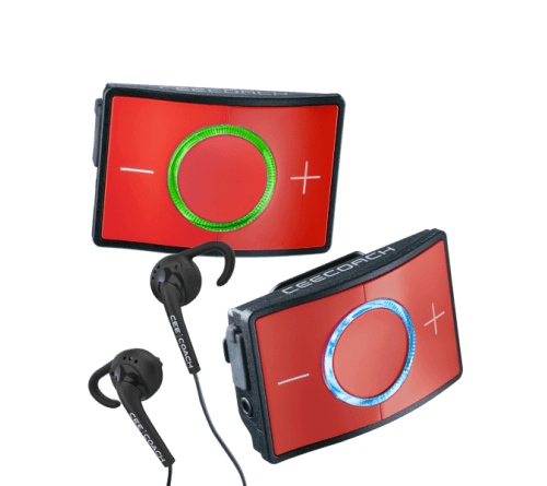 CEECOACH communicatie duo set  kleur  rood