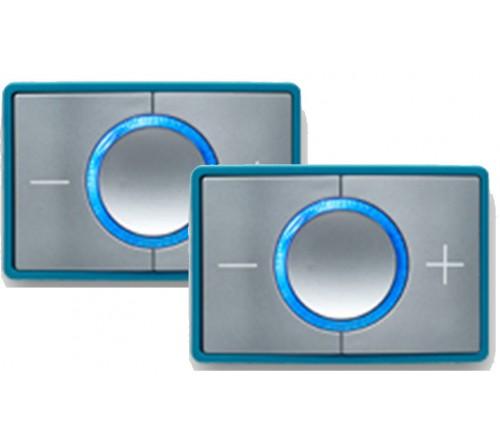 CEECOACH 2 communicatie duo set  kleur  turquoise