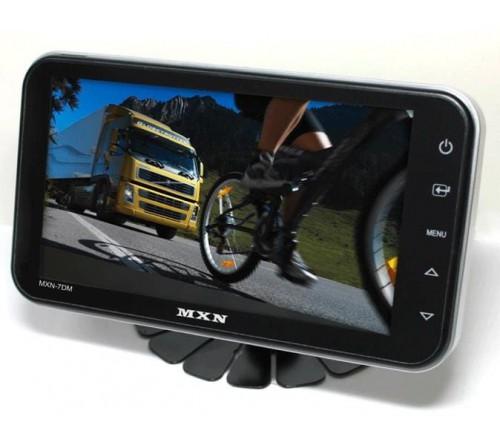 MXN 7inch digital TFT LCD monitor 4:3/16:9 capacitive button