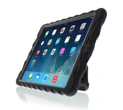 Gumdrop Drop Hideaway with Stand Apple iPad Air Black-Black