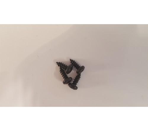 Brodit 8mm schroefjes (4stuks) tbv tel.houder/proclip